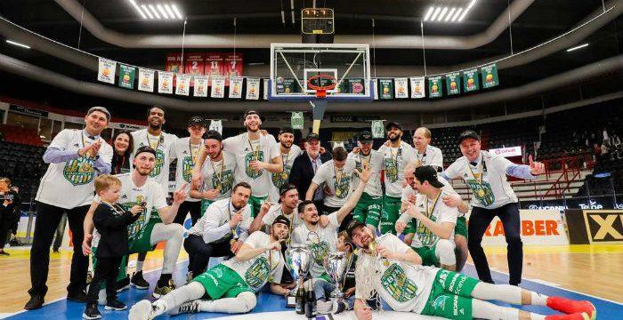 Sodertalje Celebrate 2019 Swedish League Title