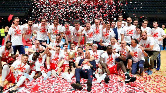 Crvena Zvezda edges Partizan to win 2019 Serbia KLS title