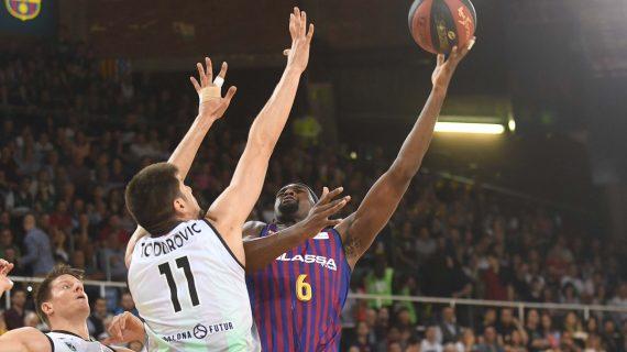 Barcelona triumphs in ACB playoffs opener
