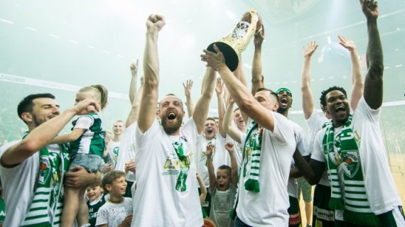 Zalgiris Kaunas is the 2019 Lithuanian League champion