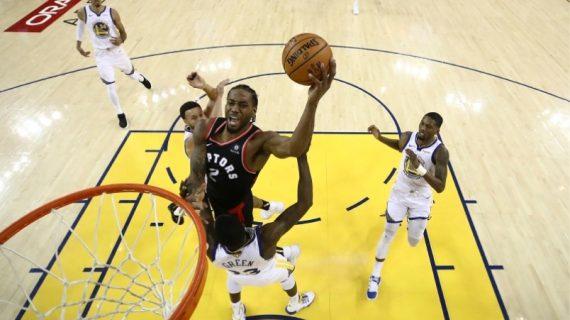 2019 NBA Finals: Toronto Raptors take 2-1 series lead over Golden State Warriors