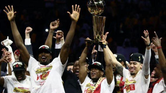 Toronto Raptors win their first NBA title