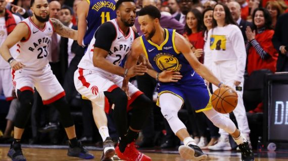 Warriors beat the Raptors in Game 5, and cut series deficit to 3-2