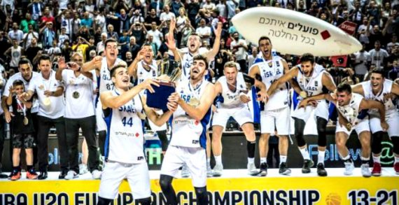 Israel defends FIBA U20 European crown