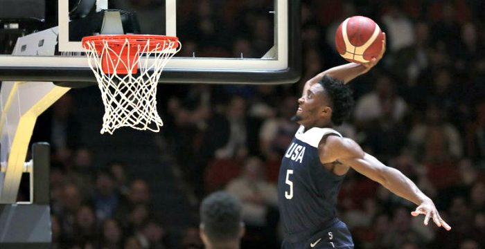 FIBA: Team USA soars past Canada in Pre-World Cup game
