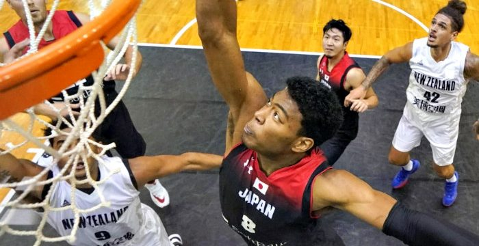 FIBA: Rui Hachimura leads Japan to tuneup win over New Zealand