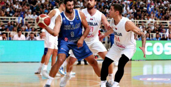 Serbia tops Greece in FIBA World Cup prep game