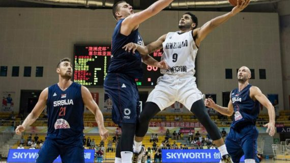 FIBA: Serbia bests New Zealand in Pre-World Cup friendly