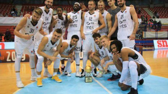 Partizan wins 2019 ABA Supercup