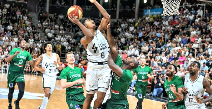 ASVEL opens French Pro A title defense with win