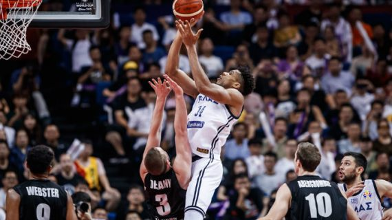 Giannis powers Greece into Second Round of FIBA World Cup