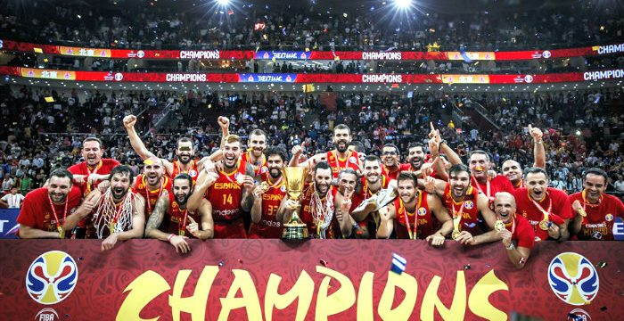 Spain wins the 2019 FIBA World Cup
