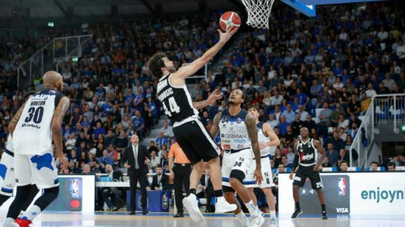Virtus Bologna stays in command of Serie A with 6-0 start