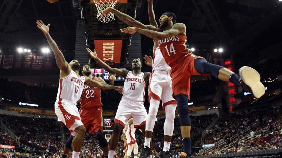 Houston Rockets ban fan for life for punching Pelicans' assistant coach