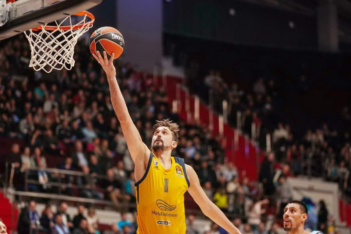 Khimki stays perfect in VTB League with 8-0 start
