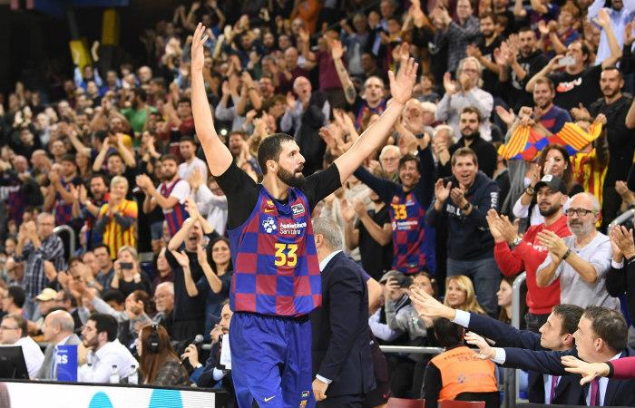 Mirotic powers Barcelona passed Real Madrid at Liga Endesa