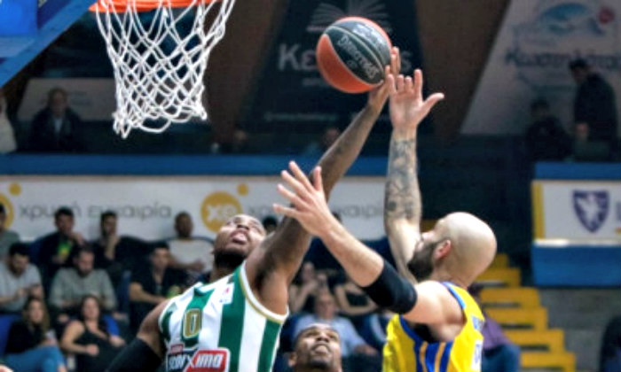 Panathinaikos gets first loss in Greek A1