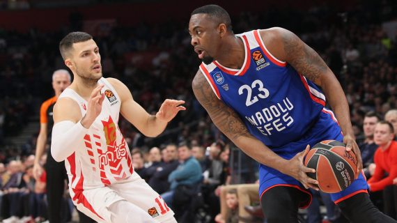 Anadolu Efes extends EuroLeague winning streak to 10 games