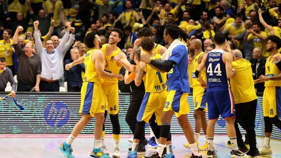 Maccabi Tel-Aviv returns to the EuroLeague playoffs for the first time since 2015