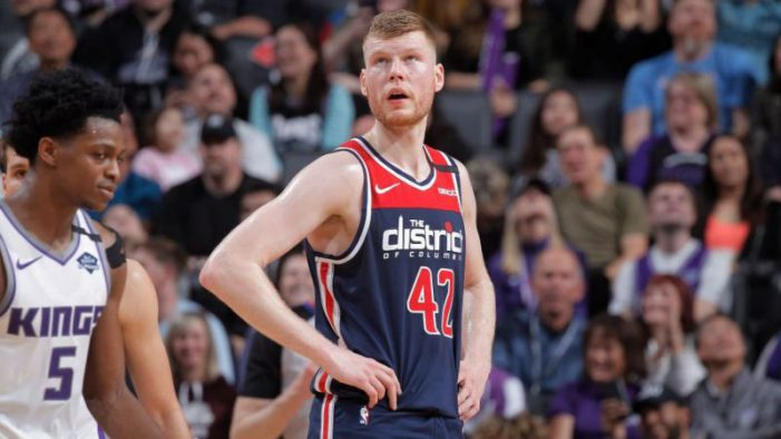 Wizards forward Davis Bertans will sit out rest of 2019-20 season