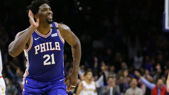 Joel Embiid's contract is now fully guaranteed for the final three years