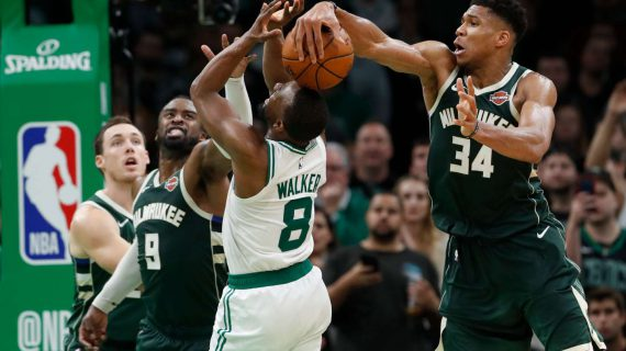 Giannis Antetokounmpo named DPOY
