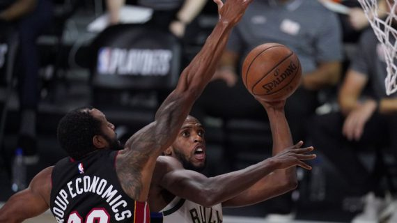 Khris Middleton, Bucks beat Heat in OT in Game 4