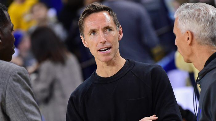 Nets hand coaching reins to Steve Nash