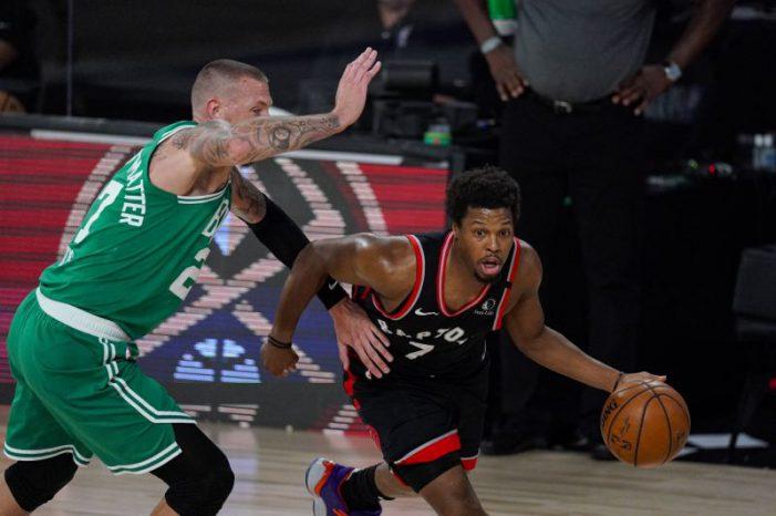 Toronto Raptors conquer Boston Celtics in 2OT,  force Game 7