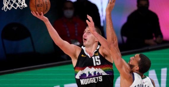 Nikola Jokic leads Nuggets past Jazz in Game 7