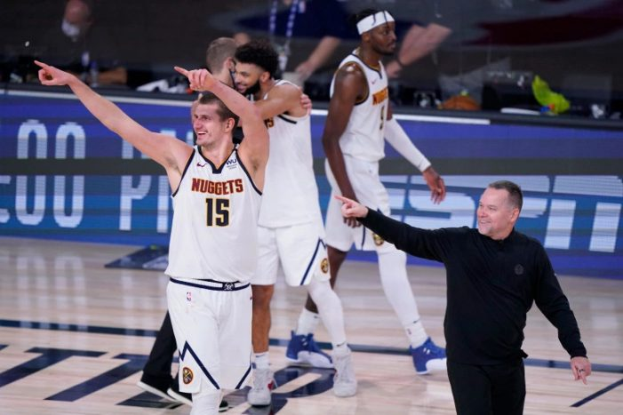 Denver Nuggets advance to Western Conference finals