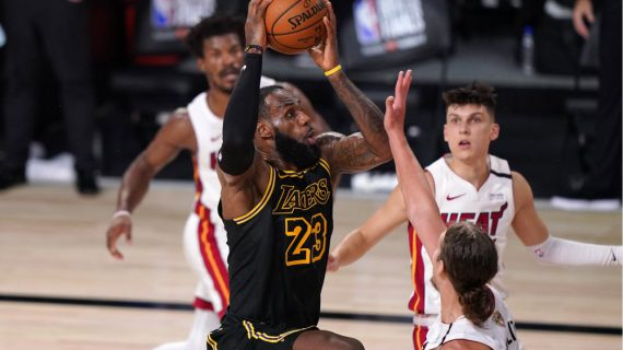 Los Angeles Lakers take 2-0 lead in NBA Finals