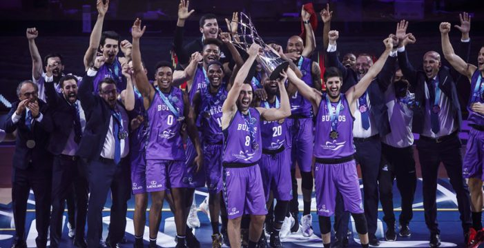 Hereda San Pablo Burgos wins 2020 Basketball Champions League winners