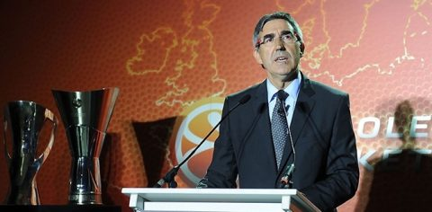 Jordi Bertomeu President of the Euroleague
