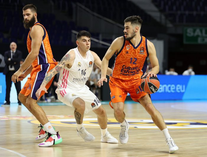 Valencia hands Real Madrid second straight EuroLeague defeat