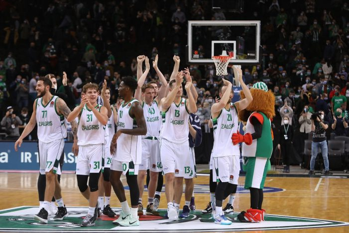 Zalgiris Kaunas makes second-best EuroLeague start in franchise history