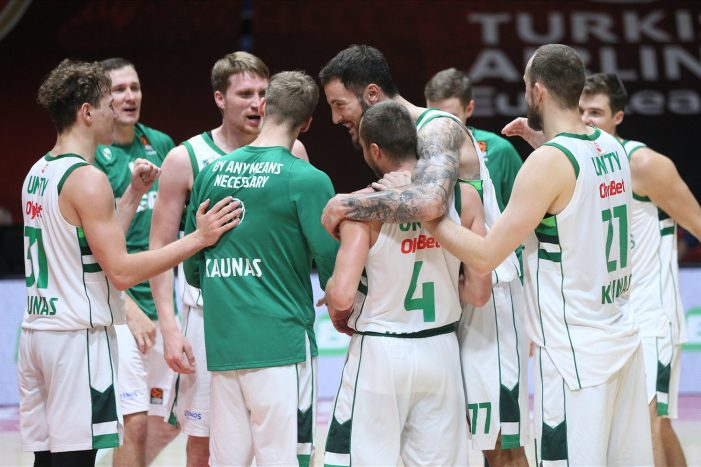 Zalgiris Kaunas becomes first EuroLeague team to three wins