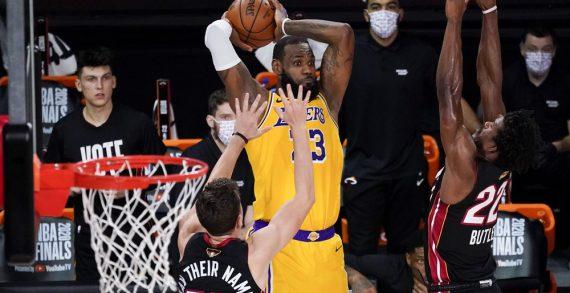 Lakers grab 3-1 lead in NBA Finals