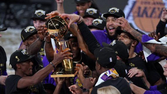 Lakers capture first NBA title since 2010