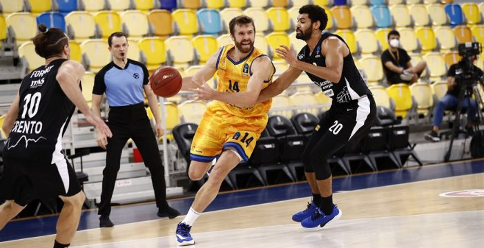 First loss for Trento in Eurocup