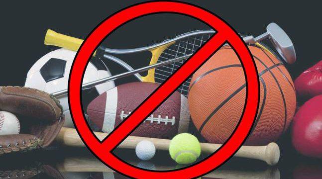 Greek Basketball league suspended.