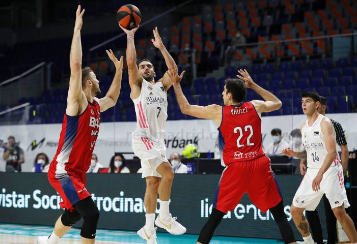 Facundo Campazzo shines in final game for Real Madrid