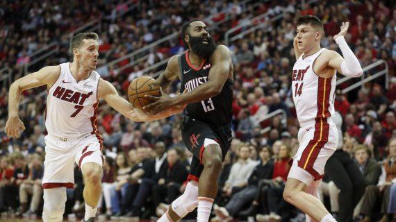 Miami Heat no longer involved in James Harden trade talks