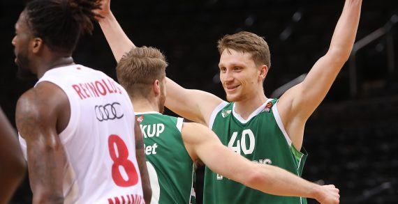 Marius Grigonis hits game-winner; hands Zalgiris Kaunas fourth straight EuroLeague win