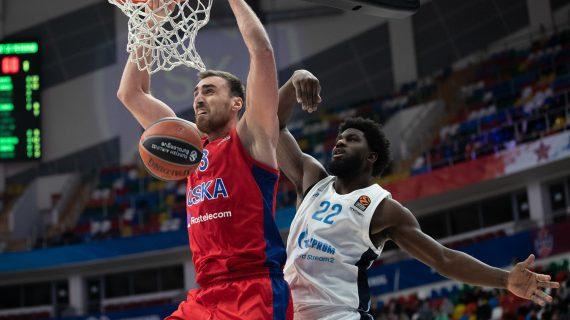 CSKA Moscow wins 10th straight to remain on top of the EuroLeague