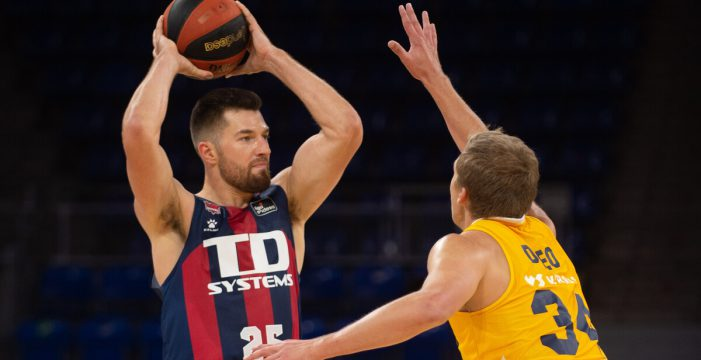 Alec Peters delivers shooting clinic for Baskonia