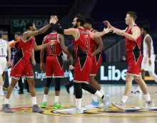 Armani Milano triumphs over Real Madrid to sweep season series in the EuroLeague