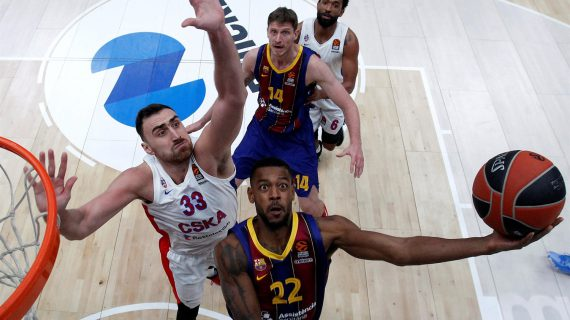 Barcelona rallies past CSKA Moscow to sweep EuroLeague season series