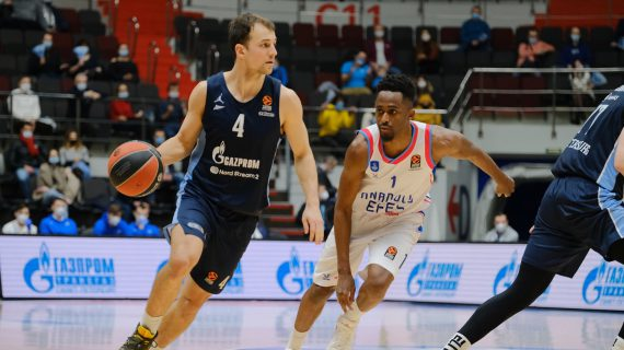 Zenit Saint Petersburg maintains EuroLeague top four push