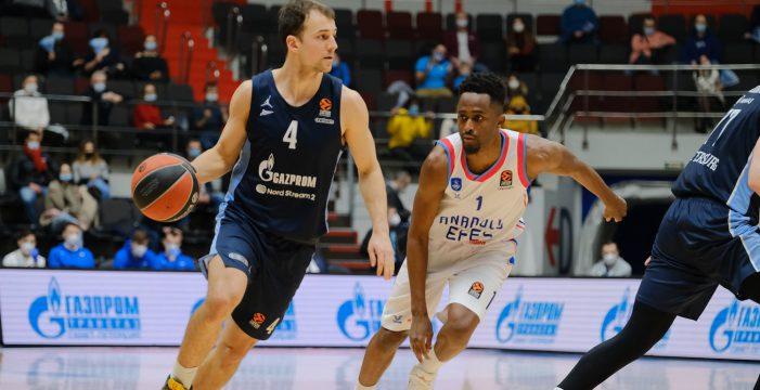 Zenit Saint Petersburg maintains EuroLeague top four push